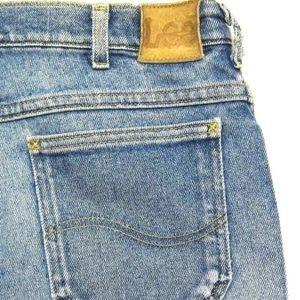 VINTAGE Lee Jeans STRETCH Straight Leg Boyfriend